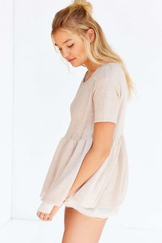 Kimchi Blue Lovesong Babydoll Top - Urban Outfitters