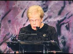 Mary Maxwell's Invocation at the 2012 Aging in America Conference - YouTube