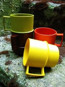 Tupperware - these were the cups we had!