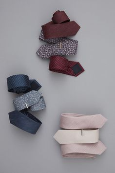 Exclusively designed in partnership with BHLDN to match perfectly with its opal bridesmaid collections. Ties ($19) and tie bars ($15) at www.TheTieBar.com