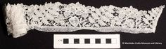 Collar, Honiton lace with traditional floral and leaf designs Craft Museum, Bobbin Lace, Leaf Design, Traditional, Floral, Crafts, Bobbin Lacemaking, Manualidades, Flowers