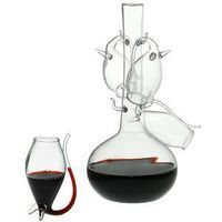 Porto Decanter Set with Four Sippers