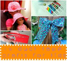 15 Duct Tape Crafts For Kids