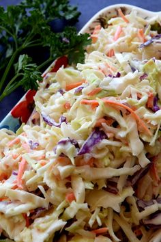 A great tasting Homestyle Creamy Coleslaw consists of simple ingredients, no fuss, and lots of crispy, crunchy vegetables.  This coleslaw is the ultimate in summer family comfort food! It needs to be a very badly tasting coleslaw for me not…