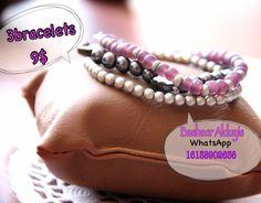 3 bracelets $9