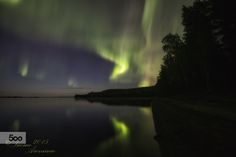Northern reflections by Tuomo Arovainio on 500px