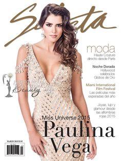 Paulina Vega Dieppa, Miss Universe 2014, para SELECTA Magazine. #PaulinaVega #PaulinaVegaDieppa #MissUniverse #MissUniverso #MissUniverse2014 #MissUniverso2014