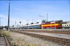 https://flic.kr/p/89xj4k | Dieselloc CZ 750 302-2 @ Zittau (D) | Traject: Zittau - Liberec Place:Zittau Date:12-8-1995 Dia:6887  © JD-Fotografie, 1995, NL