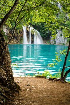 Plitvice Lakes National Park, Croatia #nature