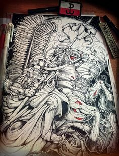 The Vengeful One Poland Tattoo, Polish Tattoos, Tatoo Designs, Jiu Jitsu, Tattoos For Guys, Warriors, Vikings, Knight, Concept Art