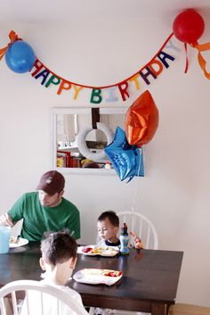 delia creates: easy birthday banner