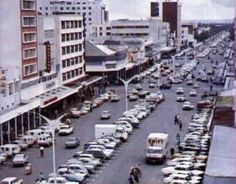 Bulawayo was known for its wide streets - check this out! Best Memories, Childhood Memories, My Family History, 11th Century, Zimbabwe, Homeland, Continents, Old Photos, New Zealand