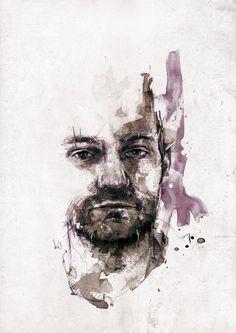 Amazing Portrait Illustrations by Florian Nicolle  <3 <3