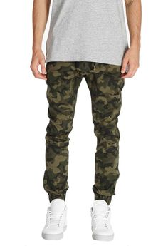 Zanerobe MS - Bottoms - Sureshot Type Zanerobe - Camo Sureshot Chino Jogger - Gotstyle The Menswear Store