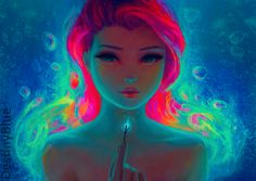 Fire Underwater by DestinyBlue.deviantart.com on @DeviantArt