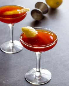 The paper plane cocktail from Sam Ross is a well-balanced and delicious cocktail that's easy to make at home.