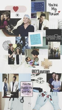 Grey's Anatomy Wallpaper Iphone, Go Wallpaper, Greys Anatomy Funny, Grey Anatomy Quotes, Gilbert And Anne, Greys Anatomy Characters, Gray Aesthetic, Youre My Person, Dc Legends Of Tomorrow