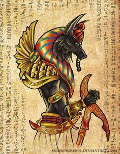 Anubis by Electra Vasiliadi