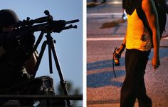 Images coming from Ferguson, Mo., reveal unfiltered, uncomfortable truths - The Washington Post