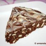 Chocoladetaart uit de koelkast