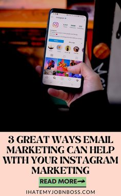 Instagram marketing efforts can be made better by having your clients subscribe to your email list, which will be mutually beneficial to both parties. #emailmarketingtips #emailmarketinghacks #emailmarketingstrategy