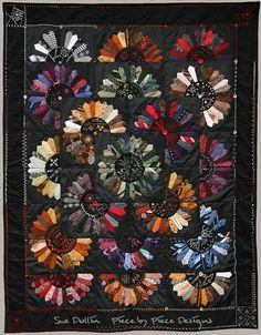 Heirloom Ties Quilt by Sue Dollin of Piece by Piece Designs on @deviantART