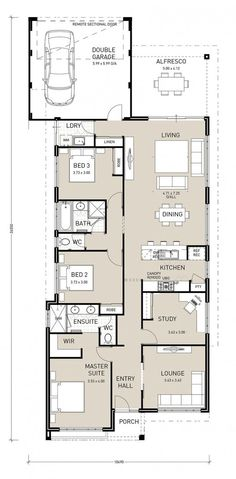 Modern House Designs Such As Mhd 2012004 Has 4 Bedrooms 2