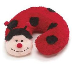 Ladybug Neck Pillow