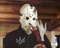 Ted White Friday The 13th Signed Authentic 8X10 Photo PSA/DNA #Y99257 @ niftywarehouse.com #NiftyWarehouse #Horror #Movies #FridayThe13th #Jason