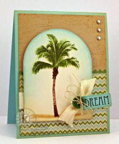 Kitchen Sink Stamps Palm Tree