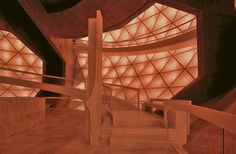 Inside the Matrimandir (a truly humbling experience)