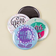 50 x 58mm pocket mirrors for only £35! Great designs by  www.katieallen-illustration.com - one of our most popular products