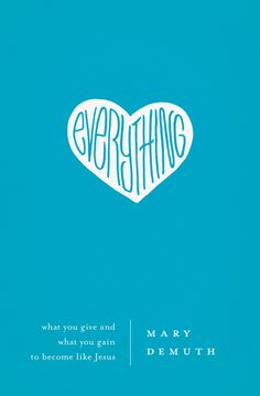 Reading advance copy now as part of the launch team!  Everything: What You Give and What You Gain to Become Like Jesus.