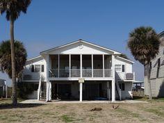Edisto Realty - Southern Fun - 7bd/3ba Deepwater home - Edisto Beach, SC
