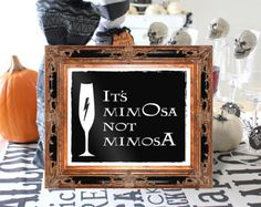 It's MimOsa not MimosA Harry Pottery by BrideMadeCalifornia It's MimOsa not MimosA, Harry Pottery and bar signs, its mimosa not mimosa, Harry Potter Party, Harry Potter Halloween Dec Baby Harry Potter, Harry Potter Thema, Theme Harry Potter, Harry Potter Baby Shower, Harry Potter Wedding, Harry Potter Birthday, Harry Potter Parties, Harry Potter Engagement, Harry Potter Party Decorations