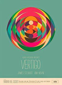Vertigo by Simon C Page. Massive range of art prints, posters & canvases. Quality UK framing & Money Back Guarantee! Vertigo Poster, Vertigo Movie, Alfred Hitchcock, Framing Canvas Art, Graphic Eyes, Alternative Movie Posters, Art Mural, Wall Art, Vintage Posters