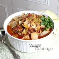 This recipe caught my attention the instant I saw it because I love cooked cabbage in all of its forms. Stuffed cabbage rolls are so goo. Easy Cabbage Rolls, Cabbage Rolls Recipe, Cabbage Soup Recipes, Paleo Recipes, Dinner Recipes, Cooking Recipes, Slovak Recipes, Ukrainian Recipes, Hungarian Recipes