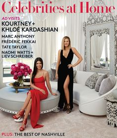 Kourtney and Khloe Kardashian take us inside their homes in the latest issue of Architectural Digest! | toofab.com