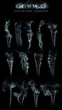 pinceles humo photoshop