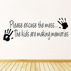 Naladoo Cartoon Making Memories Wall Sticker Home Decor Creative Wall Kids Room >>> Read more  at the image link. (This is an affiliate link and I receive a commission for the sales)