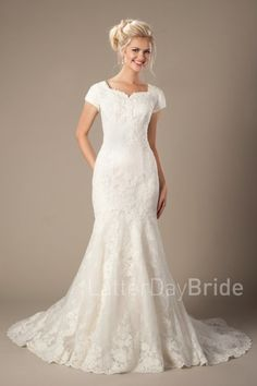 latter day bride lace dress Galloway