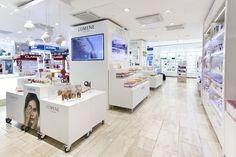 Lumene retail furniture concept by Pentagon Design » Retail Design Blog