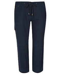 Linen Rich Cargo Shorts