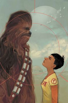 Star Wars - Chewbecca #2 by Phil Noto *
