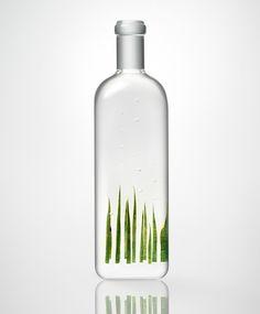nendo exhibits rain bottle installation at maison et objet 2014 - designboom   architecture