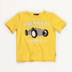 Love this boys tee from Toby and Bennett