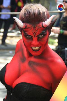 devil costume - Devil Halloween Makeup Ideas