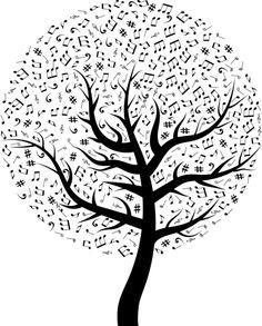 Musica, Musicale, Albero, Canzone
