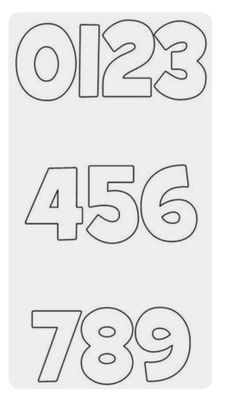Lettering Fonts Discover Learn How to Create Custom Letters for Your Scrapbook Page Free Printable Block Letters and Numbers for Scrapbooking and Cardmaking: Free Printable Block Numbers Using Grilled Cheese Font Free Printable Numbers, Printable Letters, Templates Printable Free, Printables, Number Fonts Free, Free Block Fonts, Free Printable Letter Stencils, Font Free, Kids Scrapbook