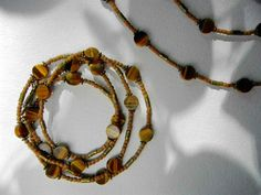 Convertible necklace / bracelet ,tiger eye stone ,tulasi wood #jewelryForSale #naturalpearls #pearl #stones #naturalstones#jewelry #tashkent #handmade #жемчуг #стиль #ташкент #мода #натуральныйжемчуг #разумныецены
